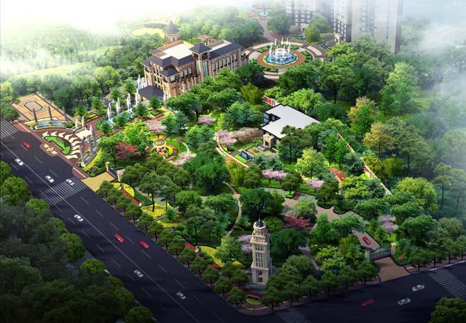 咸阳彩虹第二中学规划设计方案